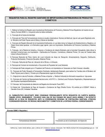Importadoras/Distribuidoras de Productos Cosmeticos - Servicio ...