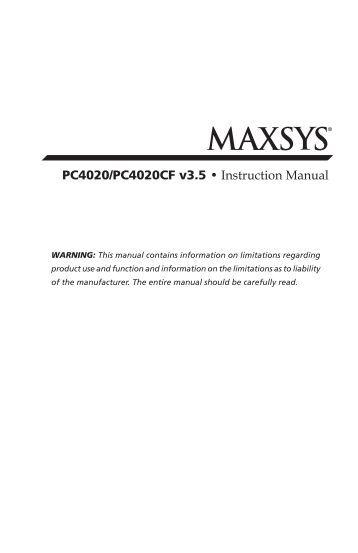 dsc classic pc1565 instruction manual