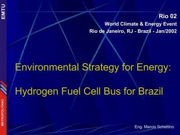 hydrogen fuel cell bus for Brazil - RIO 12