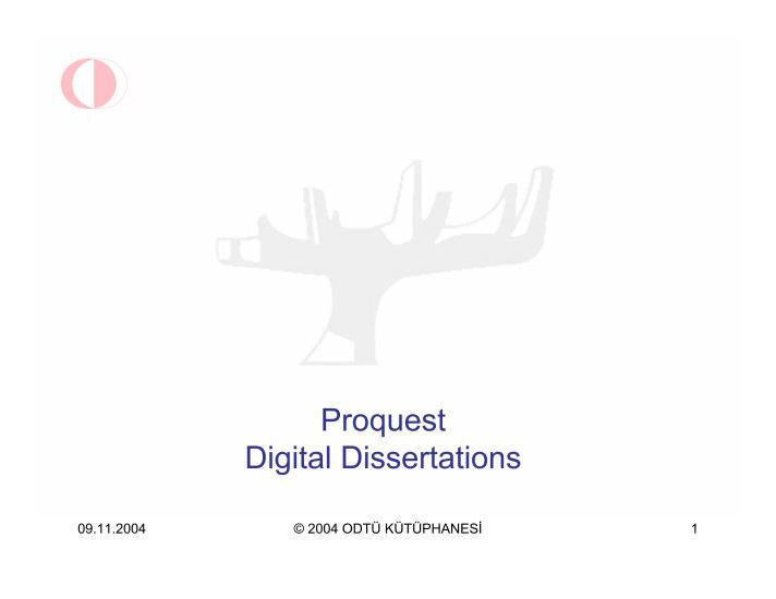 proquest direct digital dissertations Proquest dissertations & theses database the official digital dissertations archive for the library of congress and the database of record for graduate research.