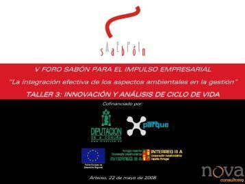 innovación y análisis de ciclo de vida - asociación de empresarios ...
