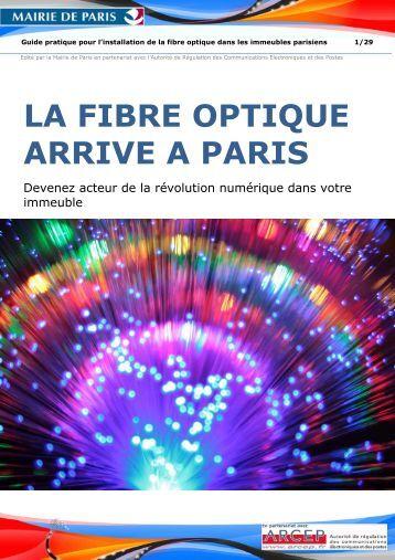 La fibre - L installation de la fibre optique ...