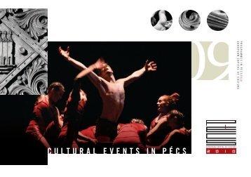 cultural events in pécs - Documentation Centre on European ...