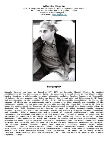 Alberto Magrin Biography