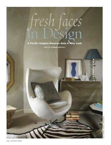 Fresh Faces in Design - Benjamin Dhong