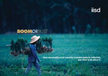 Boom or bust - International Institute for Sustainable Development