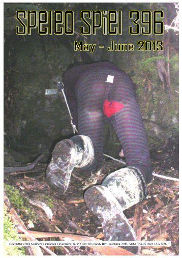 Speleo Spiel – Issue 396, May–June 2013 – page 1 - WordPress.com