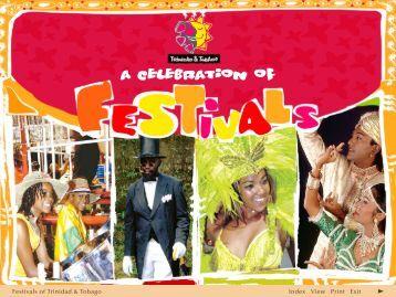 Trinidad & Tobago - A Celebration of Festivals - Trinidad and Tobago