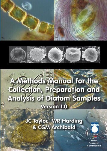 A Methods Manual for the Collection, Preparation and Analysis of ...