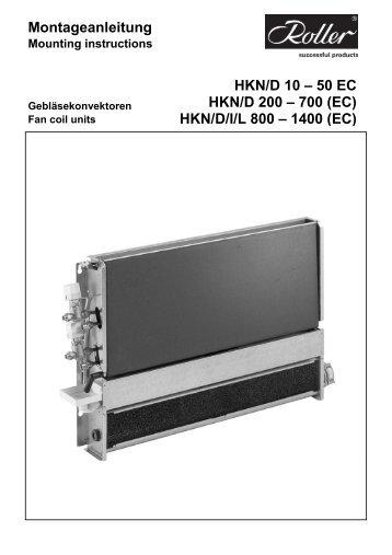 Montageanleitung - Walter Roller GmbH & Co