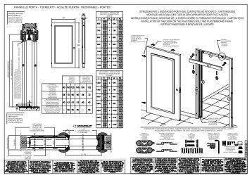 pannello porta - tuerblatt - hoja de puerta - door panel ... - Steel srl
