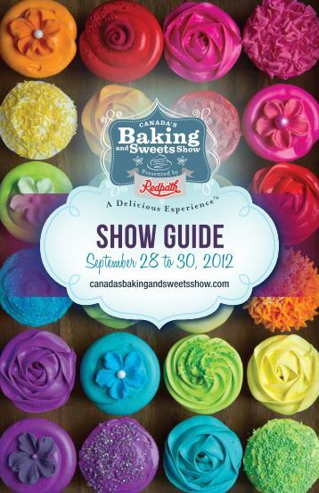 show Guide - America's Baking and Sweets Show