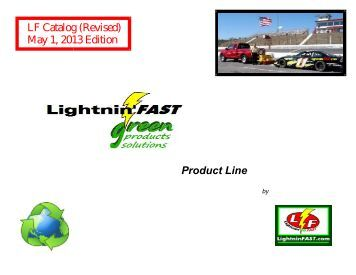 to view our 2013 Lightnin' FAST Product Line Catalog