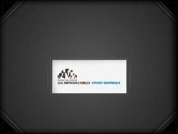 La brochure du STUDIO GRAPHIQUE - les improductibles - studio ...