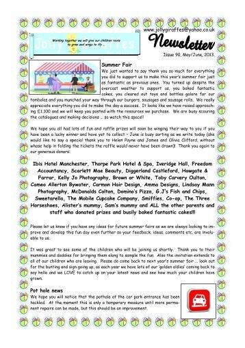 issue 90 may-june 13.pub - Jolly Giraffes Day Nursery Ltd