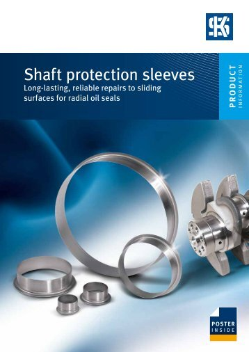 Shaft protection sleeves - MS Motor Service Deutschland GmbH