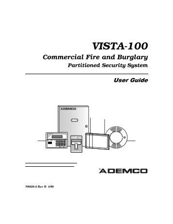 Ademco: Installer Code For Ademco Vista 20p