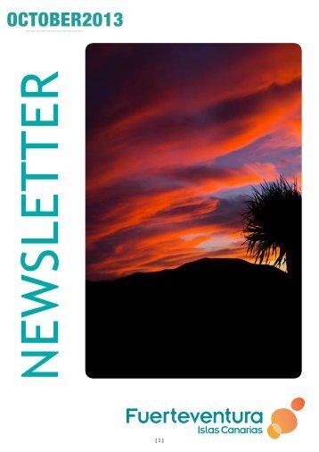 news octubre ingles - Fuerteventura