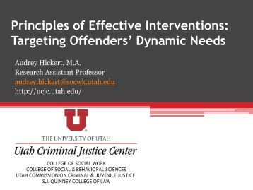 principles of effective intervention Running head: four principles 1 principles of effective intervention ladonna f manuel ashford university crj: 201 introduction to criminal justice instructor: michael pozesny june 10, 2013 four principles 2 principles of effective intervention many years of scientific study there were psychologist.