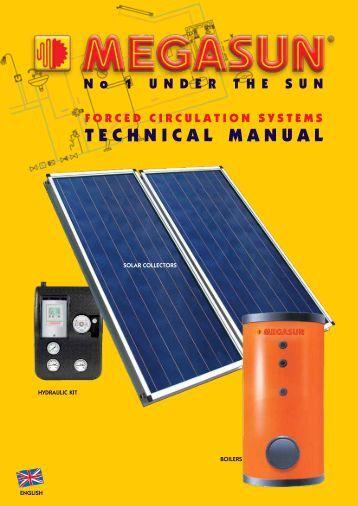 TECHNICAL MANUAL - Megasun Solar Systems