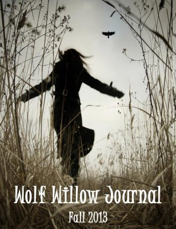 Wolf Willow Journal, Fall 2013