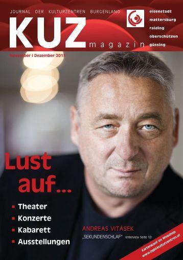 KUZ Magazin 11/12 - Kulturzentrum Burgenland