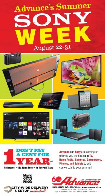 Advance's Summer - Advance Electronics