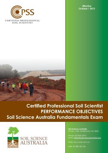 The impact of irrigation on soil structure land and for Soil science society of america