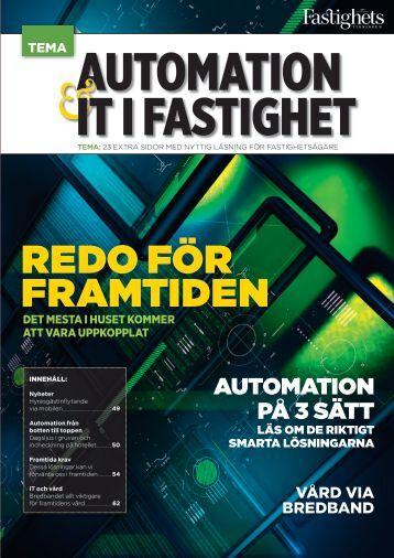 Automation - Fastighetstidningen