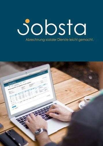 Abrechnung sozialer Dienste leicht gemacht. - jobsta