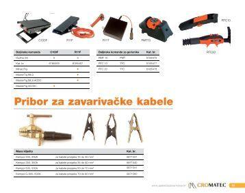 Pribor za zavarivačke kabele - Cromatec