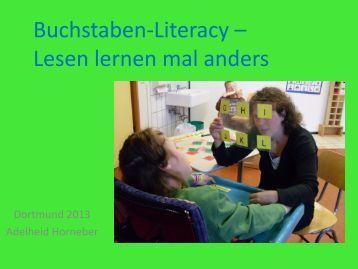 Literacy: Buchstaben-Lese-Schreib-Angebote Lesen lernen mal ...
