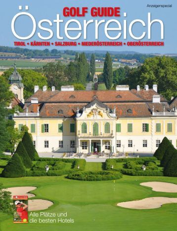 GOLFGUIDE, Austrian Special Golf Almanach