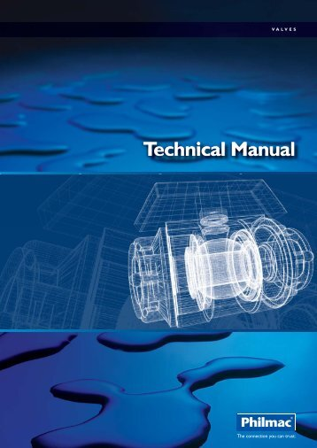 Philmac Valves Technical Manual