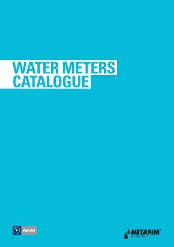 WATER METERS CATALOGUE - Netafim