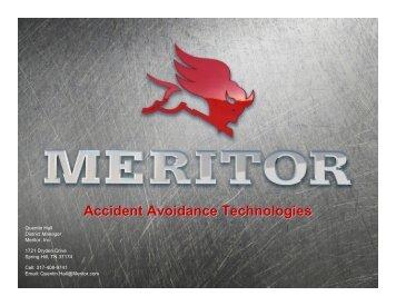 Accident Avoidance Technologies – Meritor - Tennessee Trucking ...