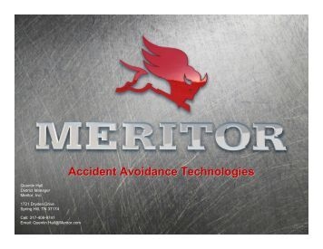 Accident Avoidance Technologies – Meritor - Tennessee Trucking ...