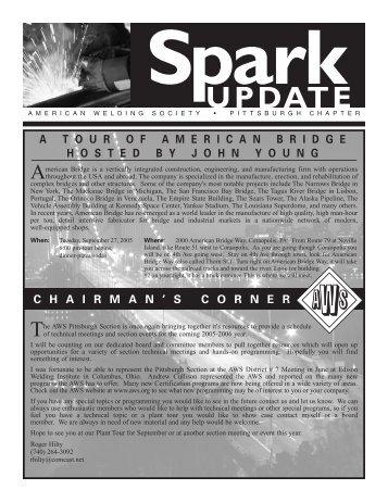 September 2005 AWS Update - American Welding Society