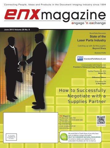 June 2013 issue in PDF - ENX Magazine