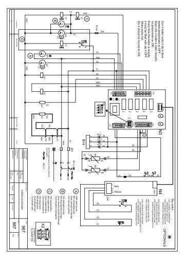 Schemi Elettrici Unifilari Dwg : Schemi elettrici an dd aermec