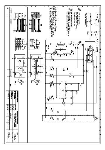 Schemi Elettrici Unifilari E Multifilari : Schemi elettrici unifilari quadro elettrico per