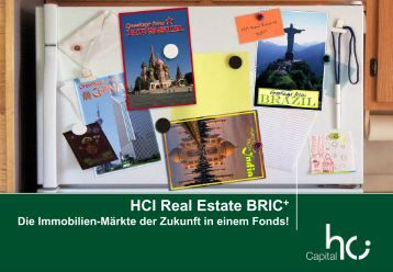 Zielkunden des HCI Real Estate BRIC+ - Birk & Partner AG