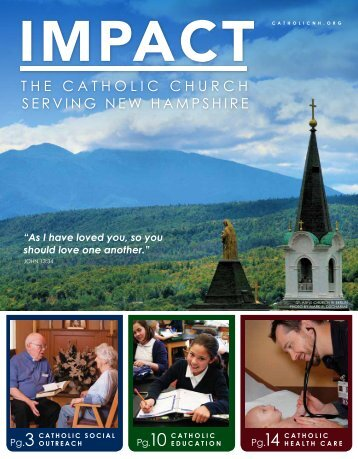 the catholic church serving new hampshire - Diocese of Manchester