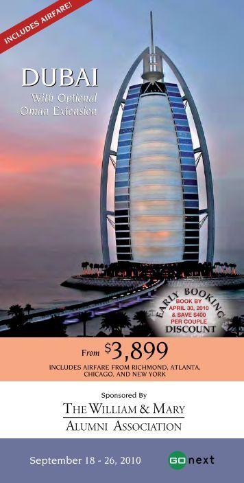 Dubai - The William & Mary Alumni Association