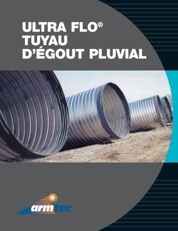 ULTRA FLO® TUYAU D'ÉGOUT PLUVIAL - Armtec
