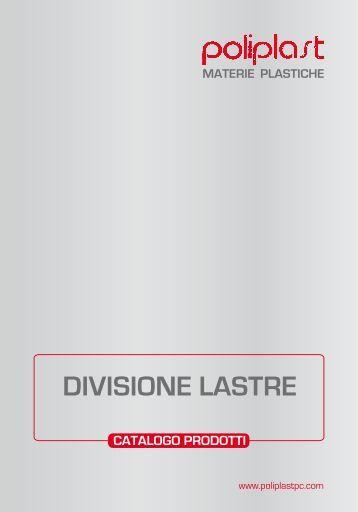 materie plastiche divisione lastre catalogo prodotti - Poliplast