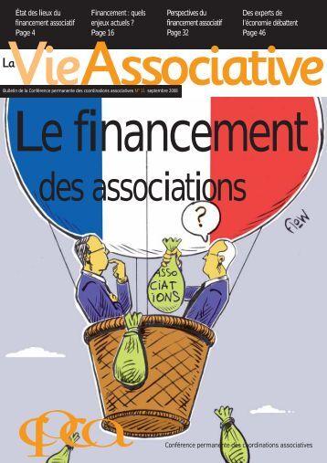 La Vie Associative | n°11 | Le financement des associations - Arsenic