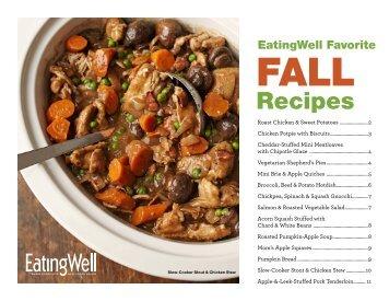 Recipes - EatingWell
