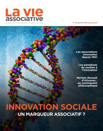 Innovation sociale, un marqueur associatif - CPCA