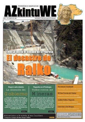 Mineras Gobierno - Centro de Documentación Ñuke Mapu